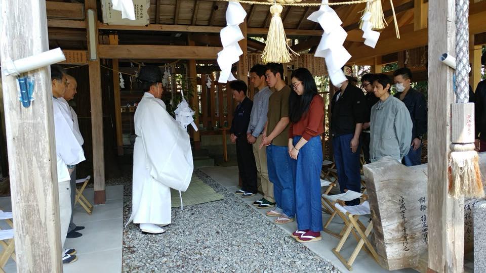 山共グループの入社式